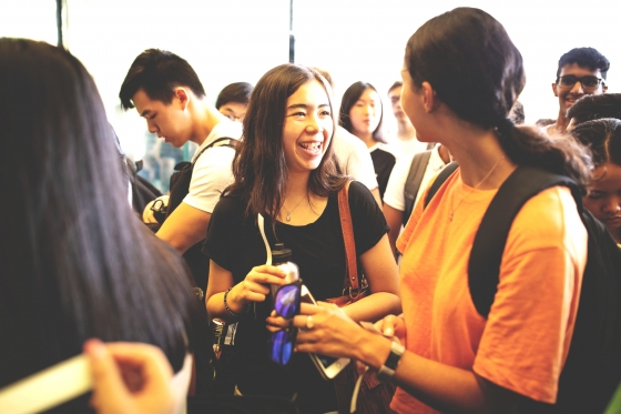 International Students at UNSW Open Day