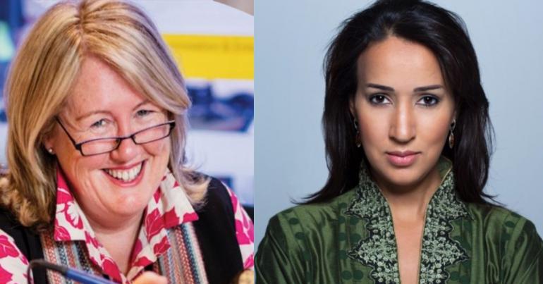 Mary-Anne Williams & Manal Al-Sharif
