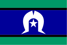 Flag of Torres Strait Islands
