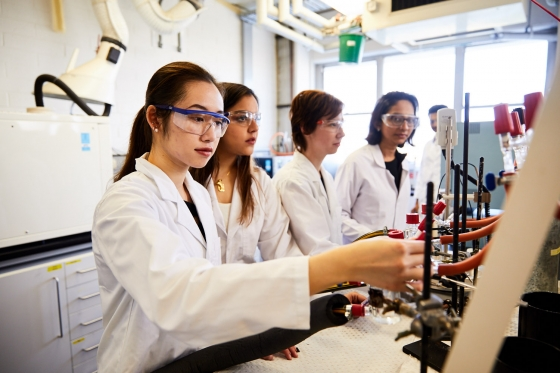 Chemical Engineering researchers