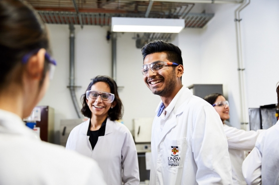 Chemical bio labs international students UNSW