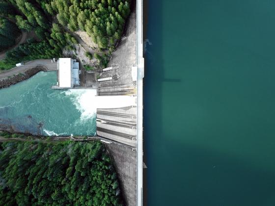 hydro energy dam