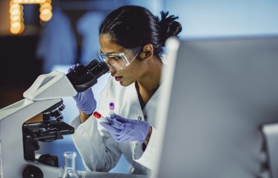 Biomedical research postgraduate