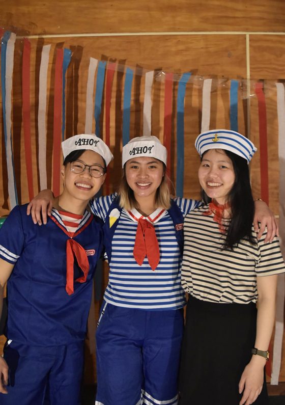Land Ahoy Party night at CEVSOC Camp 2021