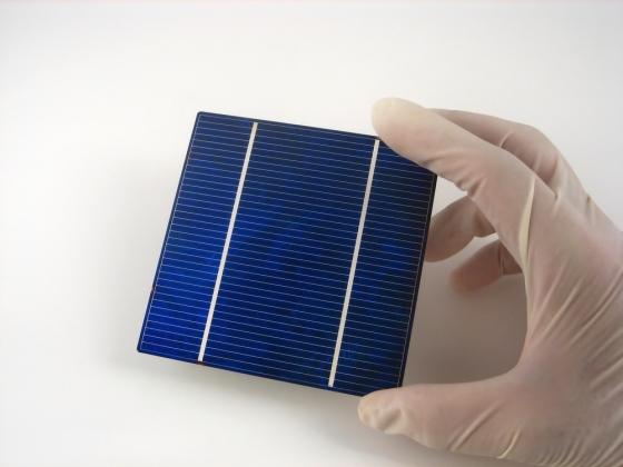 A photovoltaic solar panel