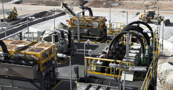 Lithium mining facility