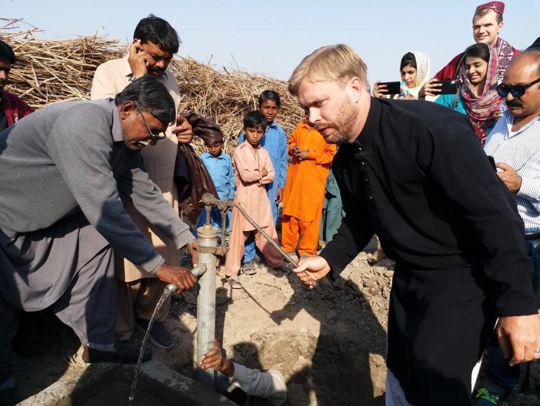 Daniel Lambert in Community Transformation Foundation in Pakistan