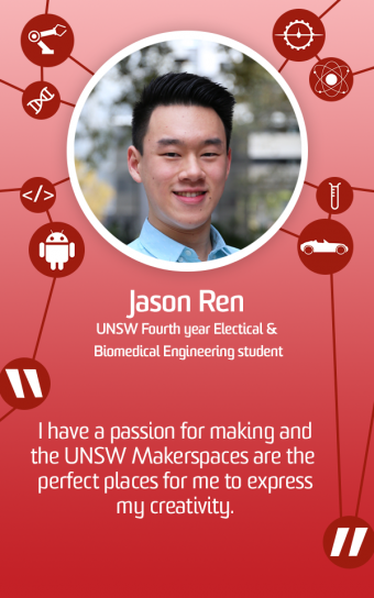 the UNSW Makerspaces