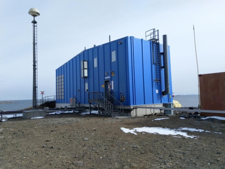 Office In Antarctica