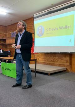 HoS Prof Travis Waller at CEVSOC Camp