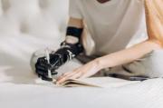 Writing prosthetic arm