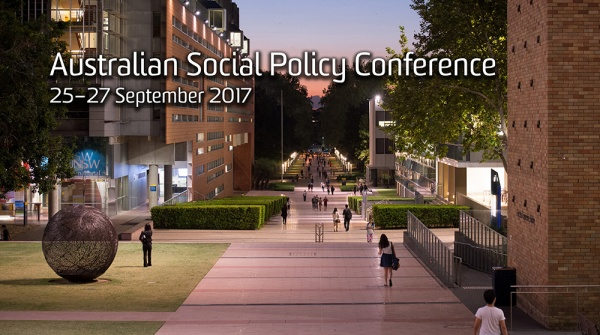 Australian social policy conference