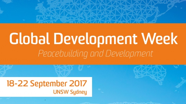 Global Development Week: Graduate Seminar - Research Tools in Peacebuilding and Development
