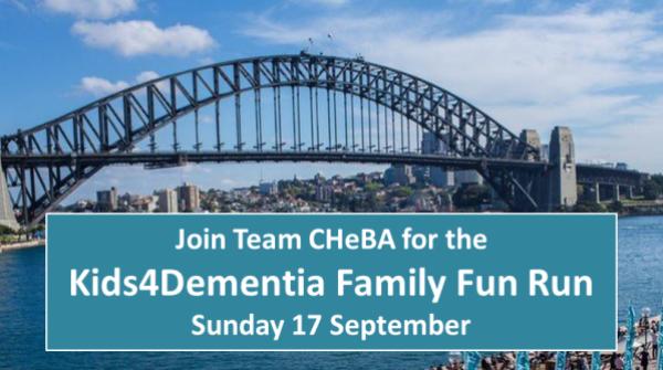 CHeBA & Kids4Dementia Family Fun Run