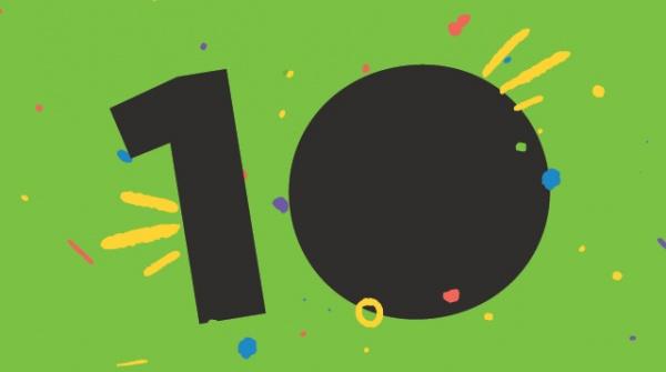 Arc turns 10