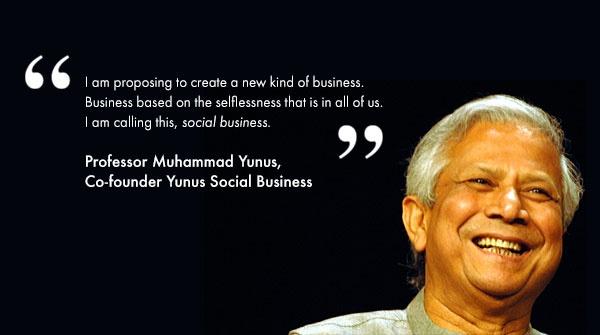Nobel Laureate Muhammad Yunus - guest lecture