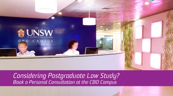 Law postgraduate coursework personal consultations image