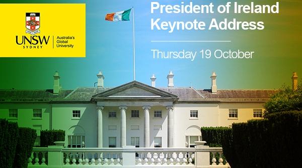 President of Ireland - Michael D. Higgins - Keynote Address