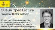 CHeBA Visiting Lecture: Professor Dieter Willbold image