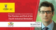 2018 Mitsubishi Sustainability Lecture: The Promise and Peril of the Fourth Industrial Revolution image