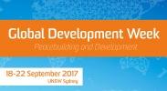 Global Development Week: Seminar - Experiences of Peacebuilding and Development in Practice image