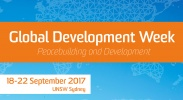 Global Development Week: Graduate Seminar - Research Tools in Peacebuilding and Development image
