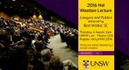 2016 Hal Wootten Lecture - Bret Walker image