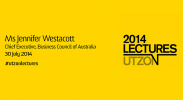 2014 Utzon Lecture Series - Ms Jennifer Westacott image