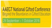 2016 AAEGT National Gifted Conference - Beyond the Boundaries in Gifted Education image