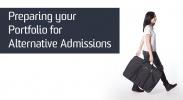 Preparing your portfolio for alternative admission image