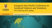 Inaugural Asia-Pacific conference on gendered violence and violations image