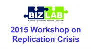 2015 Workshop in Experimental Methods: The replicability crisis in the social sciences and how to address it image
